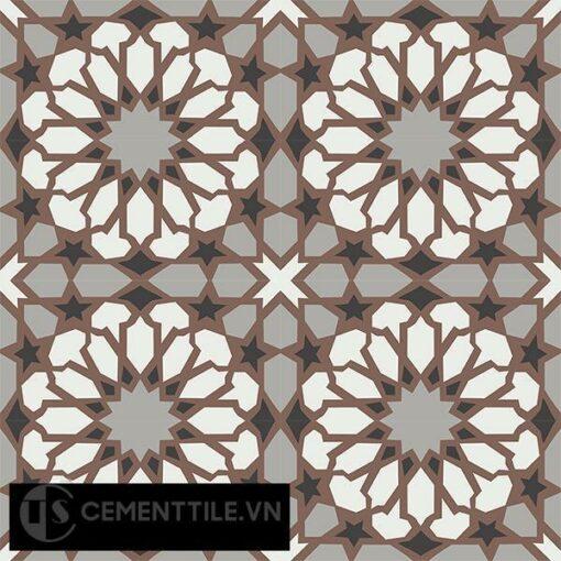 Gạch bông CTS 79.3(4-9-13-14) - 16 viên - Encaustic cement tile CTS 79.3(4-9-13-14)-16 tiles