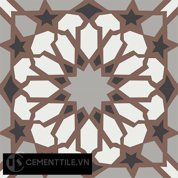 Gạch bông CTS 79.3(4-9-13-14) - 4 viên - Encaustic cement tile CTS 79.3(4-9-13-14)-4 tiles