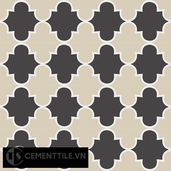 Gạch bông CTS 85.2(4-12-13) - 16 viên - Encaustic cement tile CTS 85.2(4-12-13)-16 tiles