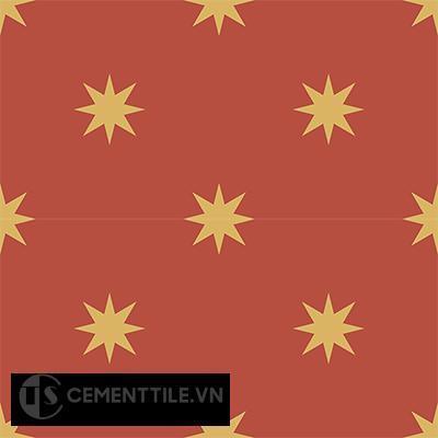 Gạch bông CTS 96.1(5-6) - 4 viên - Encaustic cement tile CTS 96.1(5-6)-4 tiles