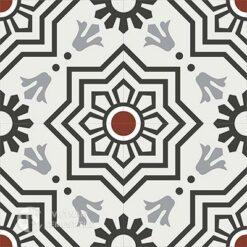 Gạch bông CTS 113.5(4-9-13-30)-4 viên - Encaustic cement tile CTS 113.5(4-9-13-30)-4vien