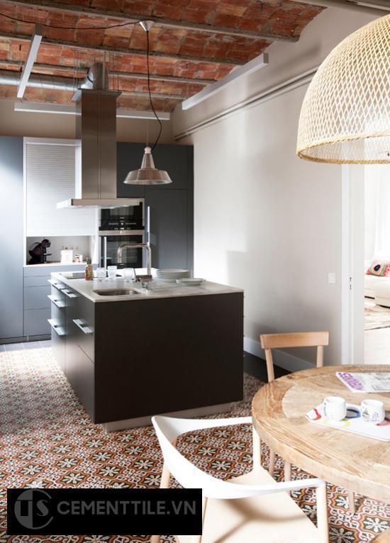 gạch ốp lát thay đổi không gian căn nhà