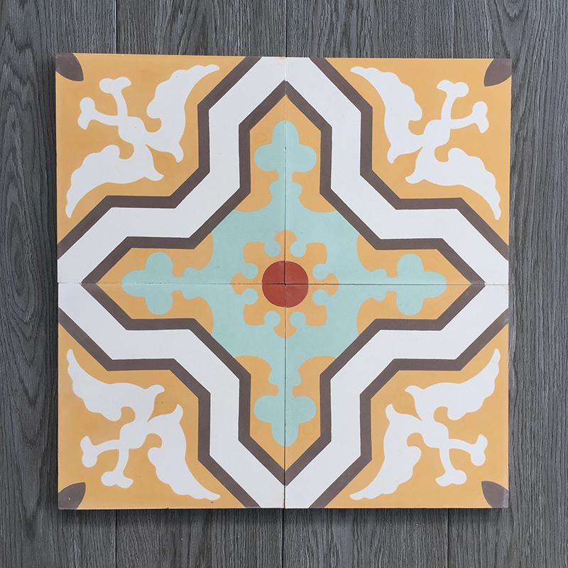 Gạch bông CTS 124.1(4-5-6-7-14) - Encaustic cement tile CTS 124.1(4-5-6-7-14)