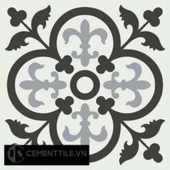 Gạch bông CTS 15.7(4-9-13) - 4 viên - Encaustic cement tile CTS 15.7(4-9-13)-4tiles