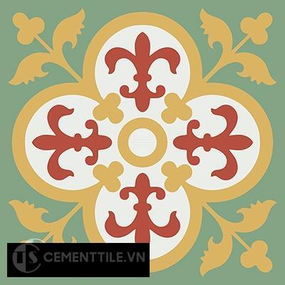 Gạch bông CTS 15.8(4-5-6-7) - 4 viên - Encaustic cement tile CTS 15.8(4-5-6-7)-4tiles