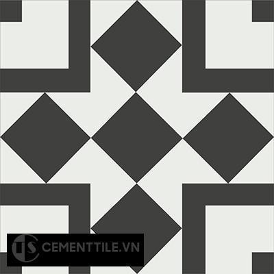 Gạch bông cổ điển CTS 92.1 ( Encaustic cement tile 92.1 )