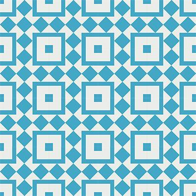 Gạch bông CTS 92.2(4-16) - 16 viên - Encaustic cement tile CTS 92.2(4-16) - 16 tiles