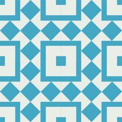Gạch bông CTS 92.2(4-16) - 4 viên - Encaustic cement tile CTS 92.2(4-16) - 4 tiles