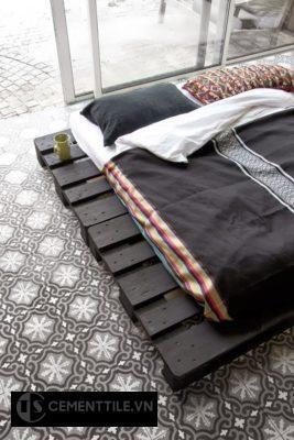 Gạch bông lát nền phòng ngủ