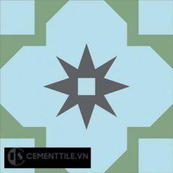 Gạch bông cổ điển CTS 104.1 ( Encaustic cement tile 104.1 )