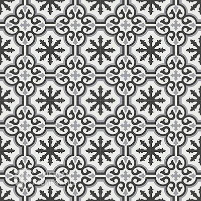 Gạch bông CTS 1.11(4-9-13)-16 viên - Encaustic cement tile CTS 1.11(4-9-13)-16tiles