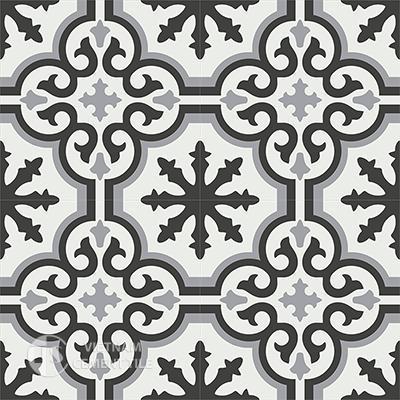 Gạch bông CTS 1.11(4-9-13)-4 viên - Encaustic cement tile CTS 1.11(4-9-13)-4tiles