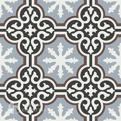 Gạch bông CTS 1.14(4-9-13-14)-4 viên - Encaustic cement tile CTS 1.14(4-9-13-14)-4tiles