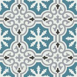 Gạch bông CTS 1.17(4-9-13-49)-4 viên - Encaustic cement tile CTS 1.17(4-9-13-49)-4tiles