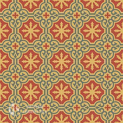 Gạch bông CTS 1.29(3-5-6)-16 viên - Encaustic cement tile CTS 1.29(3-5-6)-16tiles