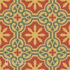 Gạch bông CTS 1.29(3-5-6)-4 viên - Encaustic cement tile CTS 1.29(3-5-6)-4tiles