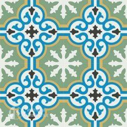Gạch bông CTS 1.30(4-6-7-8-13)-4 viên - Encaustic cement tile CTS 1.30(4-6-7-8-13)-4tiles