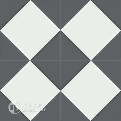 Gạch bông CTS 101.2(4-32)-16 viên - Encaustic cement tile CTS 101.2(4-32)-16tiles