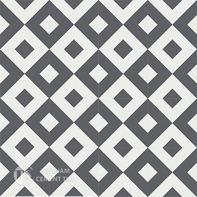 Gạch bông CTS 115.2(4-32)-16 viên  - Encaustic cement tile CTS 115.2(4-32)-16tiles