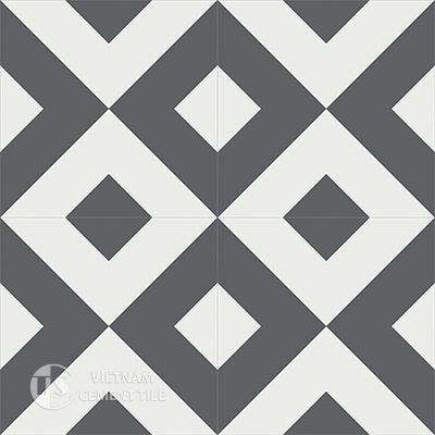 Gạch bông CTS 115.2(4-32)-4 viên  - Encaustic cement tile CTS 115.2(4-32)-4tiles