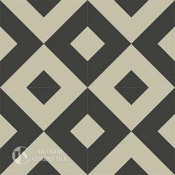 Gạch bông CTS 115.3(12-13)- 4 viên - Encaustic cement tile CTS 115.3(12-13)-4tiles