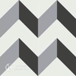 Gạch bông CTS 148.1(4-9-13) - 4 viên - Encaustic cement tile CTS 148.1(4-9-13)-4tiles