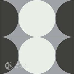 Gạch bông CTS 149.1(4-9-13)- 4 viên - Encaustic cement tile CTS 149.1(4-9-13)-4tiles