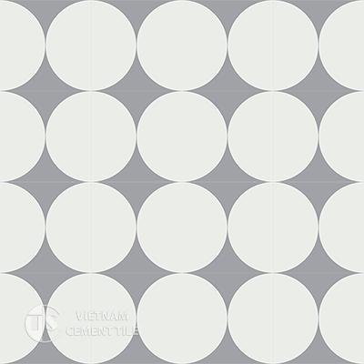 Gạch bông CTS 149.2(4-9)-16 viên - Encaustic cement tile CTS 149.2(4-9)-16tiles