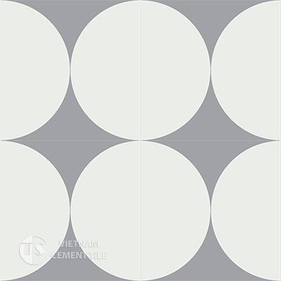 Gạch bông CTS 149.2(4-9)-4 viên - Encaustic cement tile CTS 149.2(4-9)-4tiles
