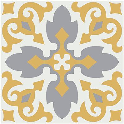 Gạch bông CTS 18.10(4-6-9) - Encaustic cement tile CTS 18.10(4-6-9)