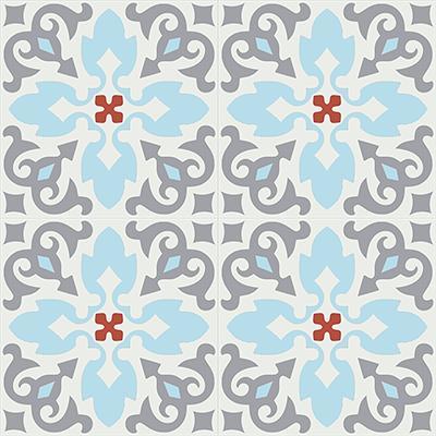 Gạch bông CTS 18.4(2-4-5-9)-4 viên - Encaustic cement tile CTS 18.4(2-4-5-9)-4 tiles