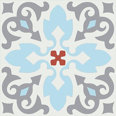 Gạch bông CTS 18.4(2-4-5-9) - Encaustic cement tile CTS 18.4(2-4-5-9)