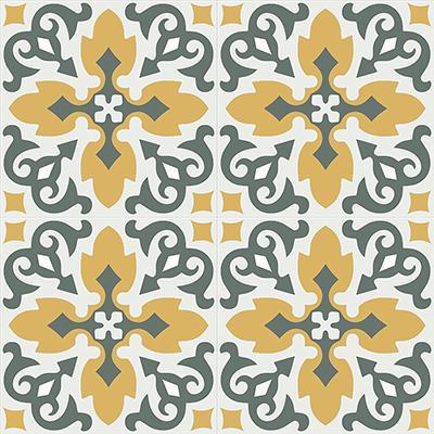 Gạch bông CTS 18.7(3-4-6)-4 viên - Encaustic cement tile CTS 18.7(3-4-6)-4 tiles