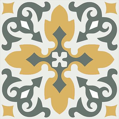 Gạch bông CTS 18.7(3-4-6) - Encaustic cement tile CTS 18.7(3-4-6)