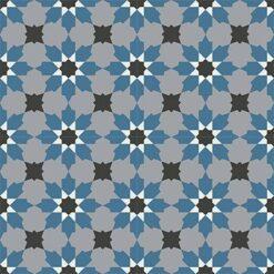 Gạch bông CTS 3.13(1-4-9-13)-4 viên - Encaustic cement tile CTS 3.13(1-4-9-13)-4tiles