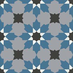 Gạch bông CTS 3.13(1-4-9-13) - Encaustic cement tile CTS 3.13(1-4-9-13)