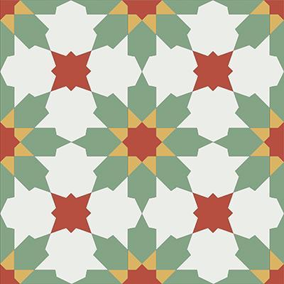 Gạch bông CTS 3.16(4-5-6-7) - Encaustic cement tile CTS 3.16(4-5-6-7)