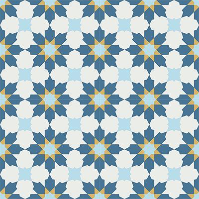 Gạch bông CTS 3.7(1-2-4-6)- 4 viên - Encaustic cement tile CTS 3.7(1-2-4-6)-4tiles