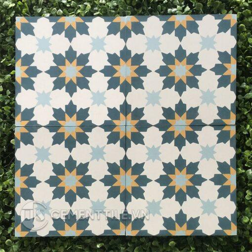 Gạch bông CTS 3.7(1-2-4-6) - Encaustic cement tile CTS 3.7(1-2-4-6)