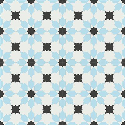 Gạch bông CTS 3.8(2-4-13)- 4 viên - Encaustic cement tile CTS 3.8(2-4-13)-4tiles