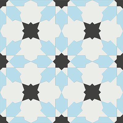 Gạch bông CTS 3.8(2-4-13) - Encaustic cement tile CTS 3.8(2-4-13)