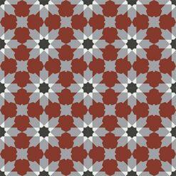 Gạch bông CTS 3.9(4-9-13-30)-4 viên - Encaustic cement tile CTS 3.9(4-9-13-30)-4tiles