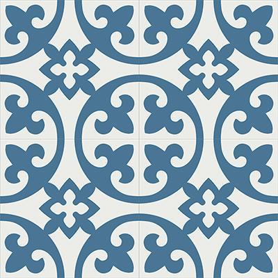 Gạch bông CTS 4.6(1-4) - 4 viên - Encaustic cement tile CTS 4.6(1-4) - 4 tiles