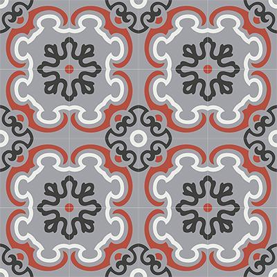 Gạch bông CTS 5.4(4-5-9-13)-16 viên - Encaustic cement tile CTS 5.4(4-5-9-13)-16tiles