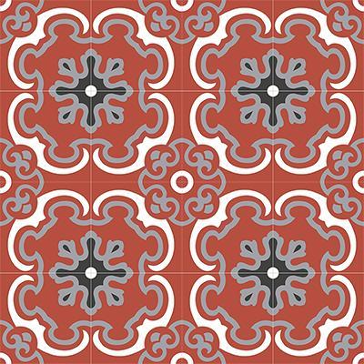 Gạch bông CTS 5.5(4-5-9-13)-16 viên - Encaustic cement tile CTS 5.5(4-5-9-13)-16tiles