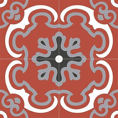 Gạch bông CTS 5.5(4-5-9-13)-4 viên  - Encaustic cement tile CTS 5.5(4-5-9-13)-4tiles