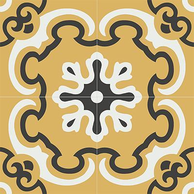 Gạch bông CTS 5.6(4-6-13)-4 viên - Encaustic cement tile CTS 5.6(4-6-13)-4tiles