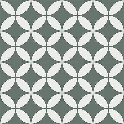 Gạch bông CTS 6.12(3-4)-4 viên - Encaustic cement tile CTS 6.12(3-4)-4 tiles