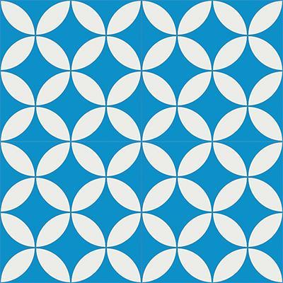 Gạch bông CTS 6.4(4-8)- 4 viên - Encaustic cement tile CTS 6.4(4-8)-4 tiles