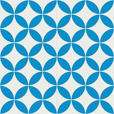 Gạch bông CTS 6.7(4-8)-4 viên - Encaustic cement tile CTS 6.7(4-8)- 4 tiles